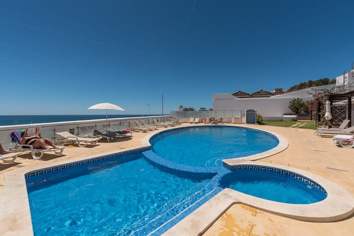 Beach House with Pool and Garage