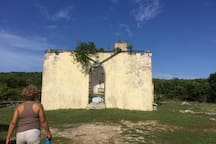 St Mary the Virgin Anglican Church.  Said to be built by the Spaniards in the 1600's and said to be the oldest church in the Bahamas.  15 minute drive from Cottage.