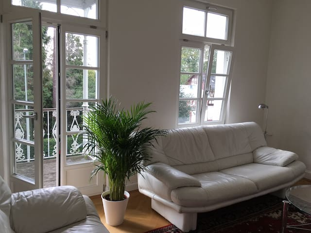 Königstein - well-lit 3 bedroom ( 1080ft2) - Königstein im Taunus - Appartement