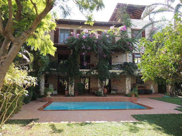 2 villas sleep 10 direct sea access - Kalkan Belediyesi - Villa