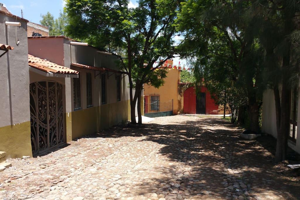 Street view of Casa Ariani
