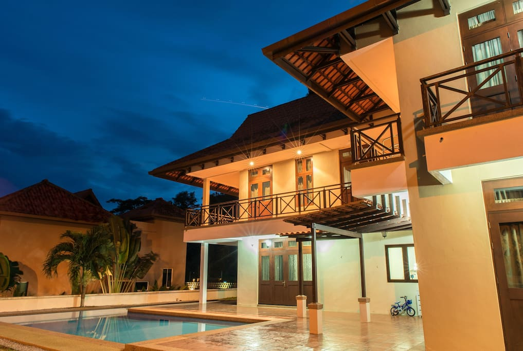 The Villa in the Evening