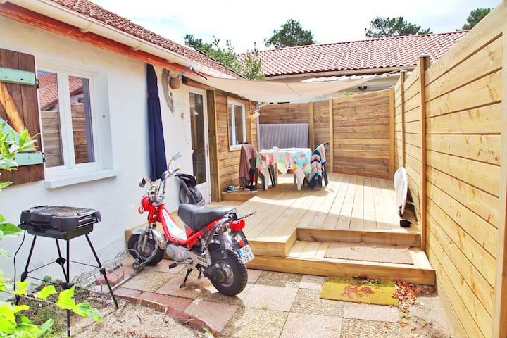 Studio 26m2 et sa terrasse privative Capbreton