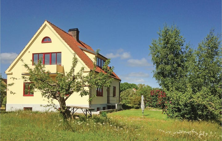 Stunning home in Kivik with WiFi and 3 Bedrooms