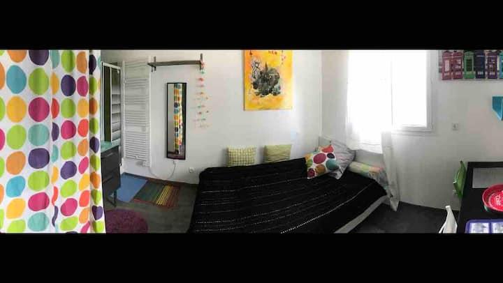 Chambres meublées modernes tt confort prox Lavéra