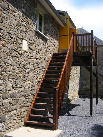 Ruim vakantiehuis Frans Baskenland - Barcus - Apartment