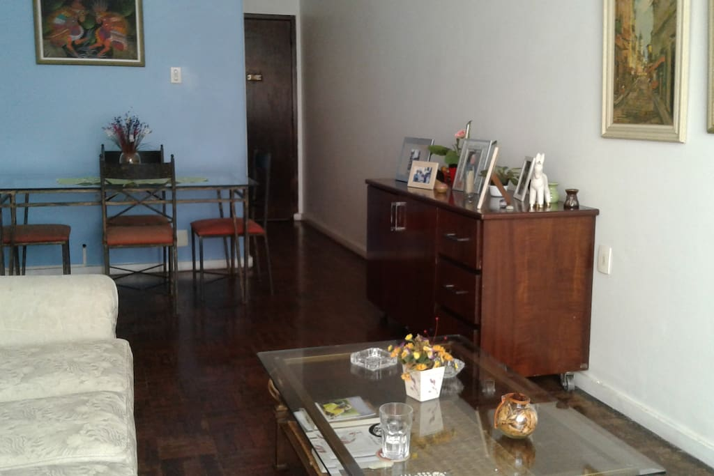 Sala de estar e refeições