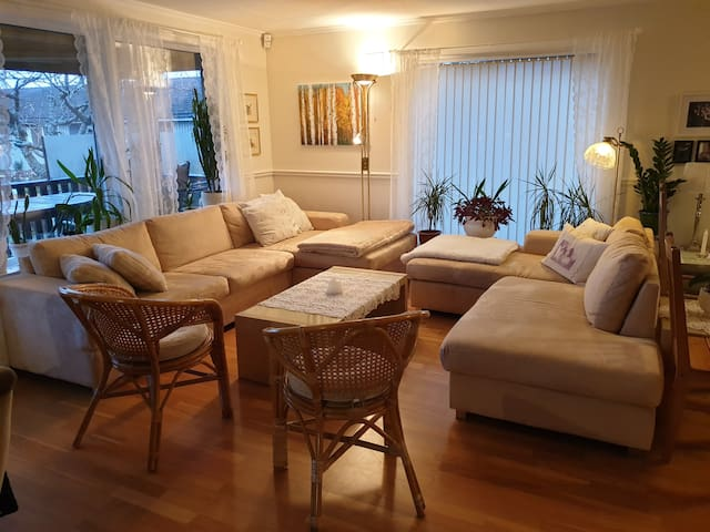 Cozy house in Saltnes (15 min from Rygge)