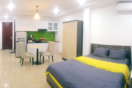 Fresh Apartment with Balcony - MIN Thao Dien 201