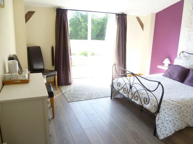 Ty Dour Bras chambres d'hôtes Room2 - La Feuillée - Bed & Breakfast