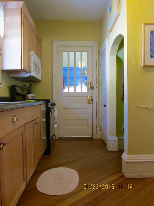 Clean, bright, updated kitchen.  It all starts here!