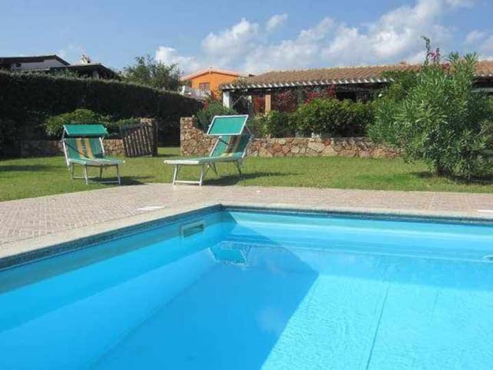 Villetta con piscina, Residence Abba Urci 76