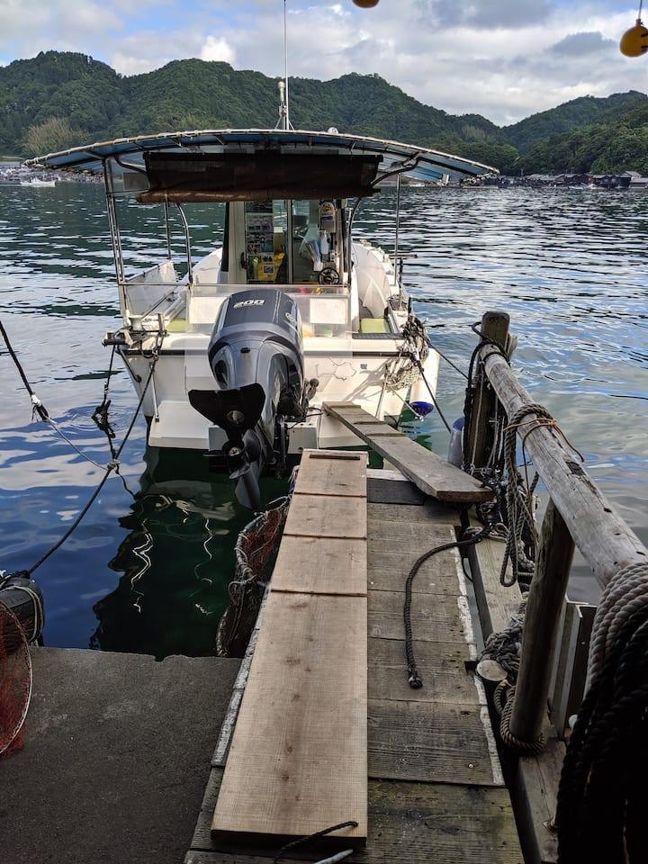 Visit in Funaya (Fisherman's house)