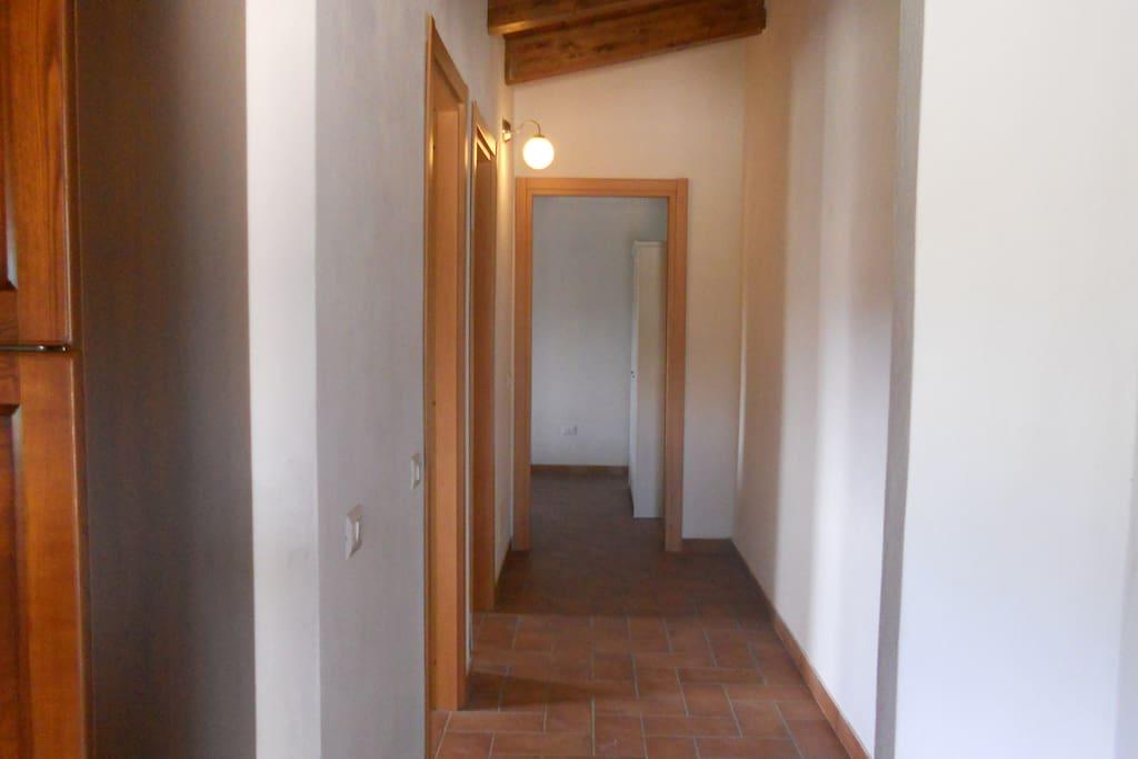 L'ampio corridoio