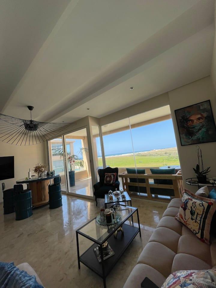 Appartement Neuf Design 136m² vue sur mer- Evasion