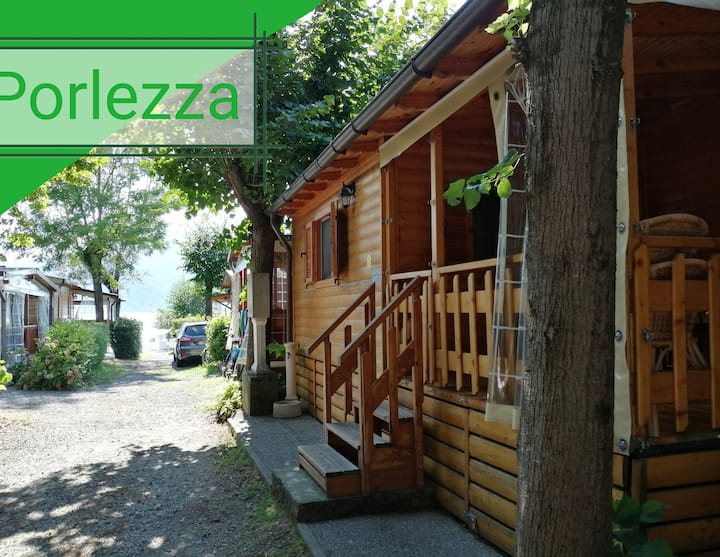 Private Lovely & cosy chalet, 20m from lake Lugano