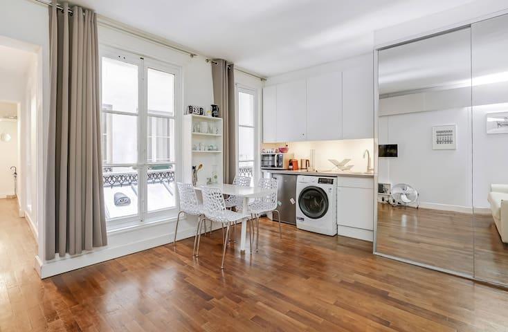 Lovely studio apartment 3 pax Saint-Germain area