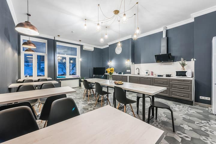 Central Moscow Hostel | Rooms and beds