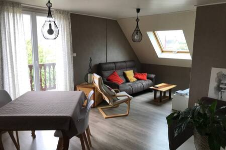 Grand appartement lumineux pour 4 personnes
