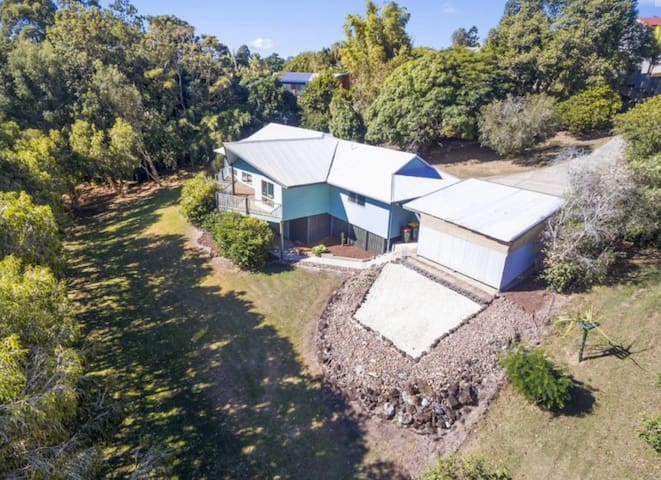 secluded private near Byron Bay - Ocean Shores - Hus