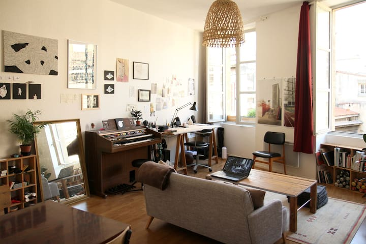 Nice apt in Saint-Michel - historic center - 53m² - Bordeaux - Apartment