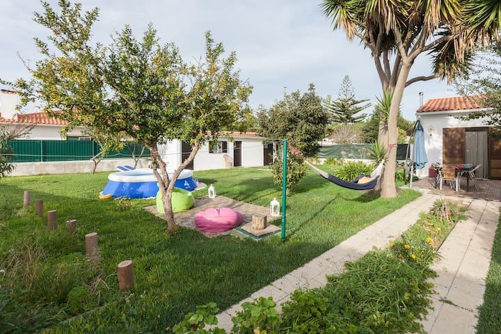 Happy Family Beach House 3km from Lagoon - Lagoa de Albufeira - House