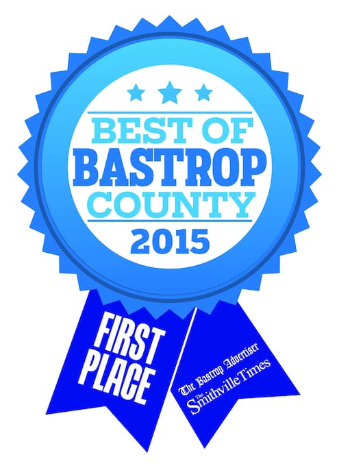 Consistent award winner of Best B&B, Bastrop County