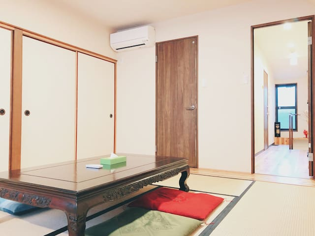 【綾大宮】Kyoto Traditional Max 9ppl♪Free Wifi 4Rooms♪