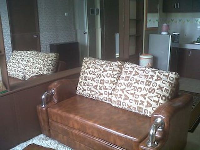 Furnished 2BR Apartment The Suites @ Metro Bandung