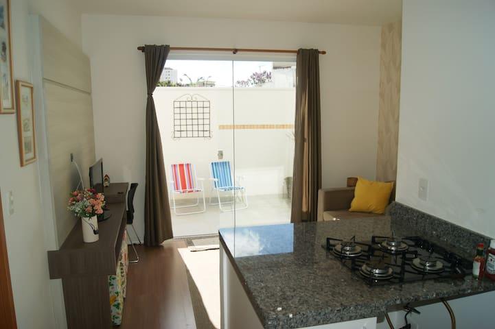 Apartamento novo no centro de Poços de Caldas