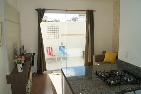 Apartamento novo no centro de Poços de Caldas - Poços de Caldas - Huoneisto