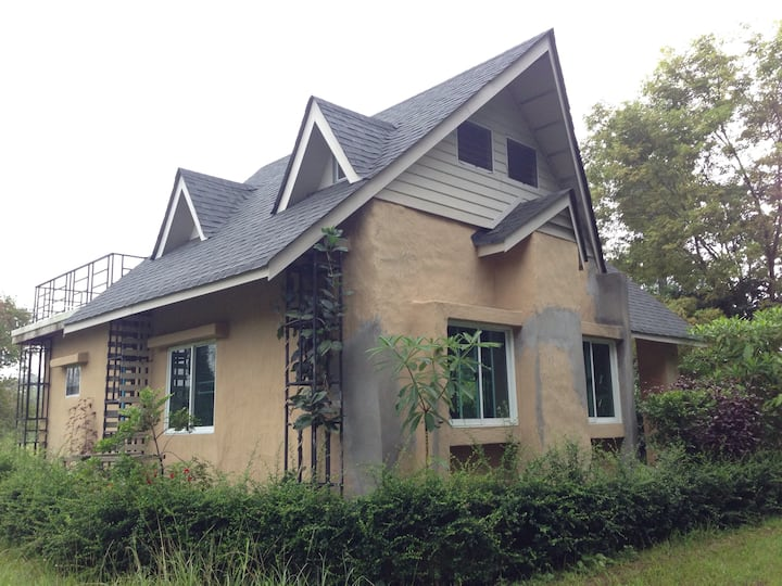 Earth House in Khao Yai private property