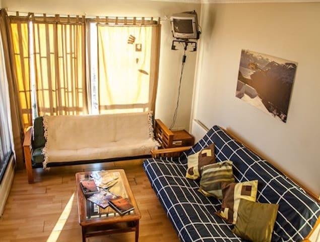 Departamento 2 ambientes con Terraza 2 - Farellones - Apartemen