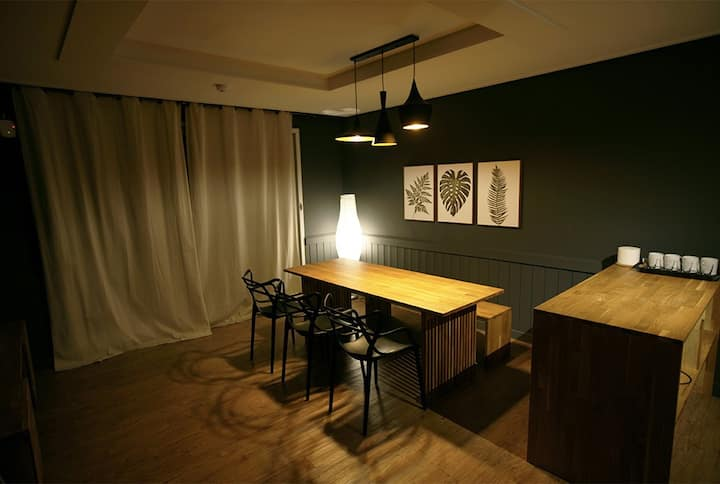소중한 이와 편안하고 안락한 휴식이 가능한 친환경 공간 Family Room 3(투룸)
