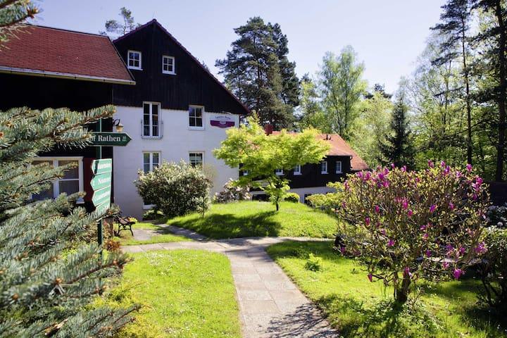 """Bergpension """"Laasen Perle"""" DZ m. Frühstück & Sauna"""
