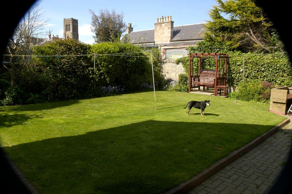 Garden to relax in