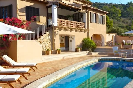 Mallorca Country Villa with Valley and Sea Views - Calvià