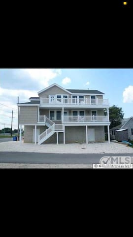 Split Level Bay View Apartment overlooking LBI