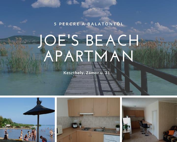 5 percre a strandtól kényelmes apartman