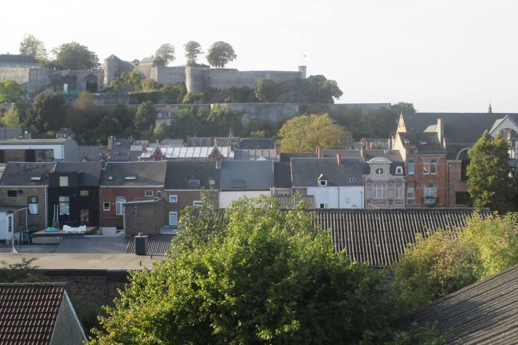 Vue sur la Citadelle de la chambre