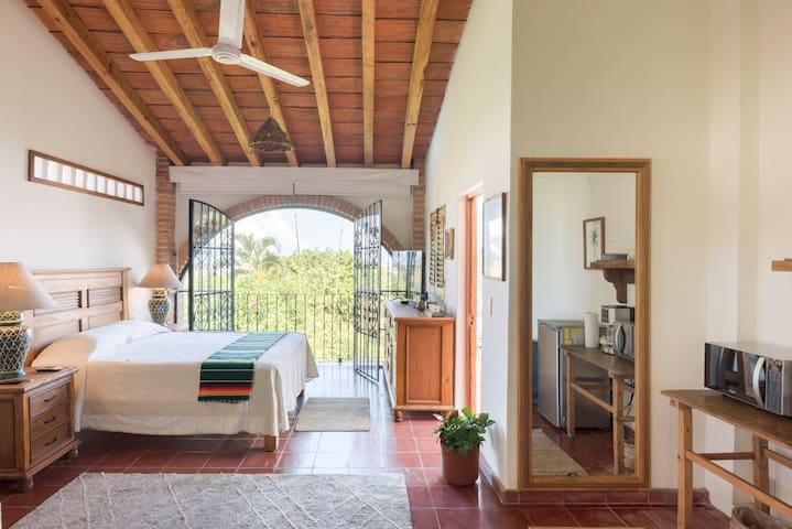 Traditional Vallarta studio with a beautiful view