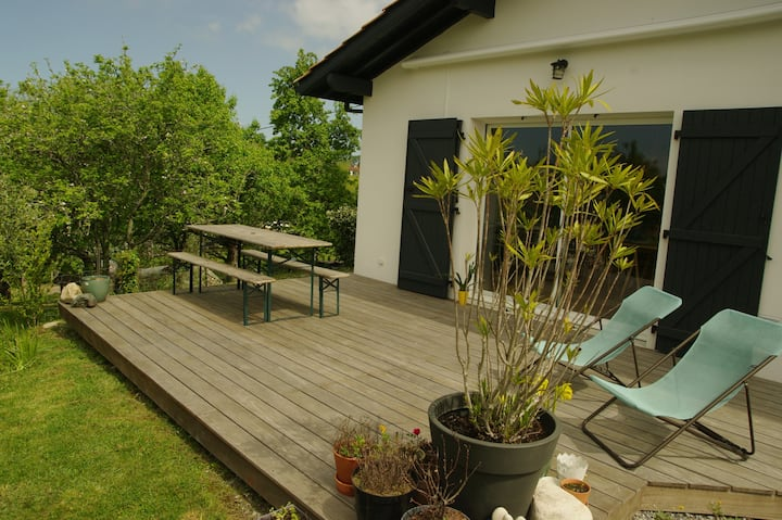 Villa 90 m² between Biarritz and Saint Jean de Luz
