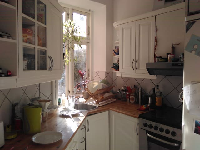 our small and cozy kitchen