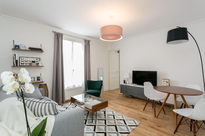 40m2 cosy & renovated flat (2017) - Boulogne/Paris