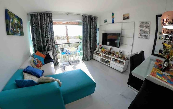 Beira-mar Matinhos☀️ LINDO p/ home office e férias❤️