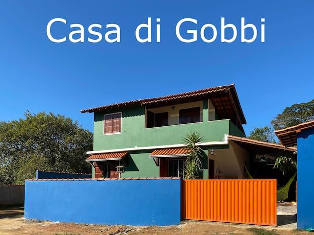 Casa di Gobbi - Q1 cachoeiras, trilhas e sossego
