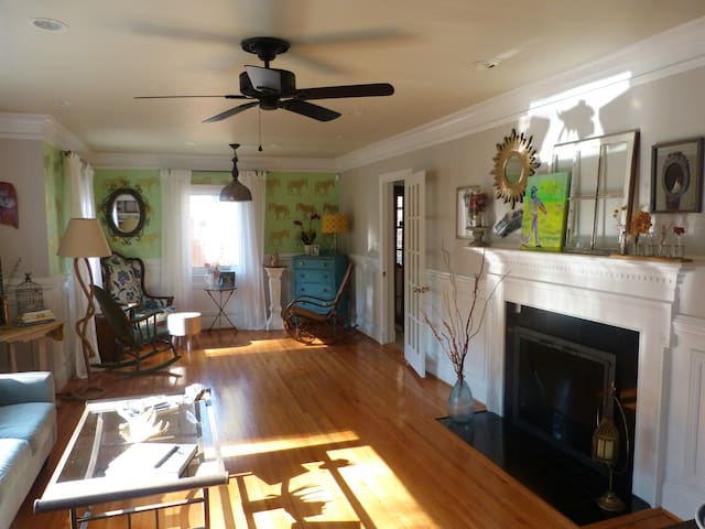 Private Rooms in Plaza-Midwood Area - Charlotte - Huis
