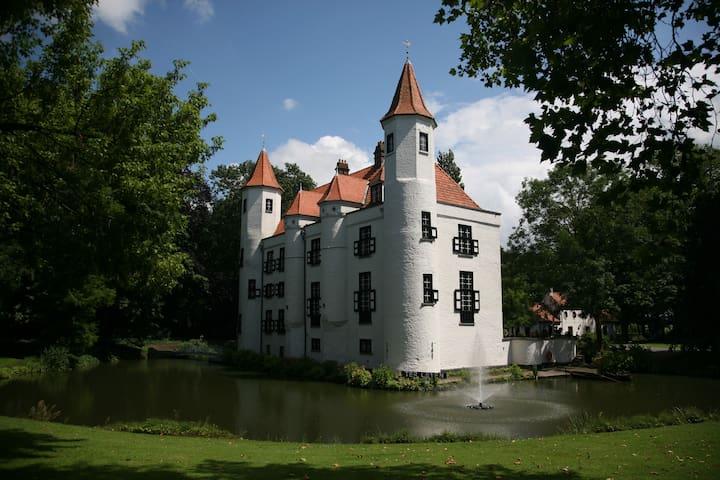 Kasteel Ter Leyen te Boekhoute - Assenede - Slot