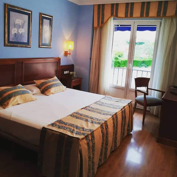 Hotel Villa de Gijón (habitacion junior suite)