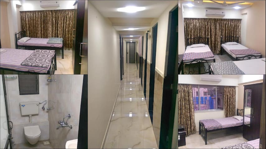 Nest Inn, Shared (Group) Accommodation in Malad W